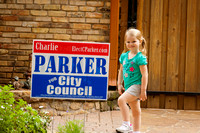 041412 - Charlie Parker Yard Sign BBQ